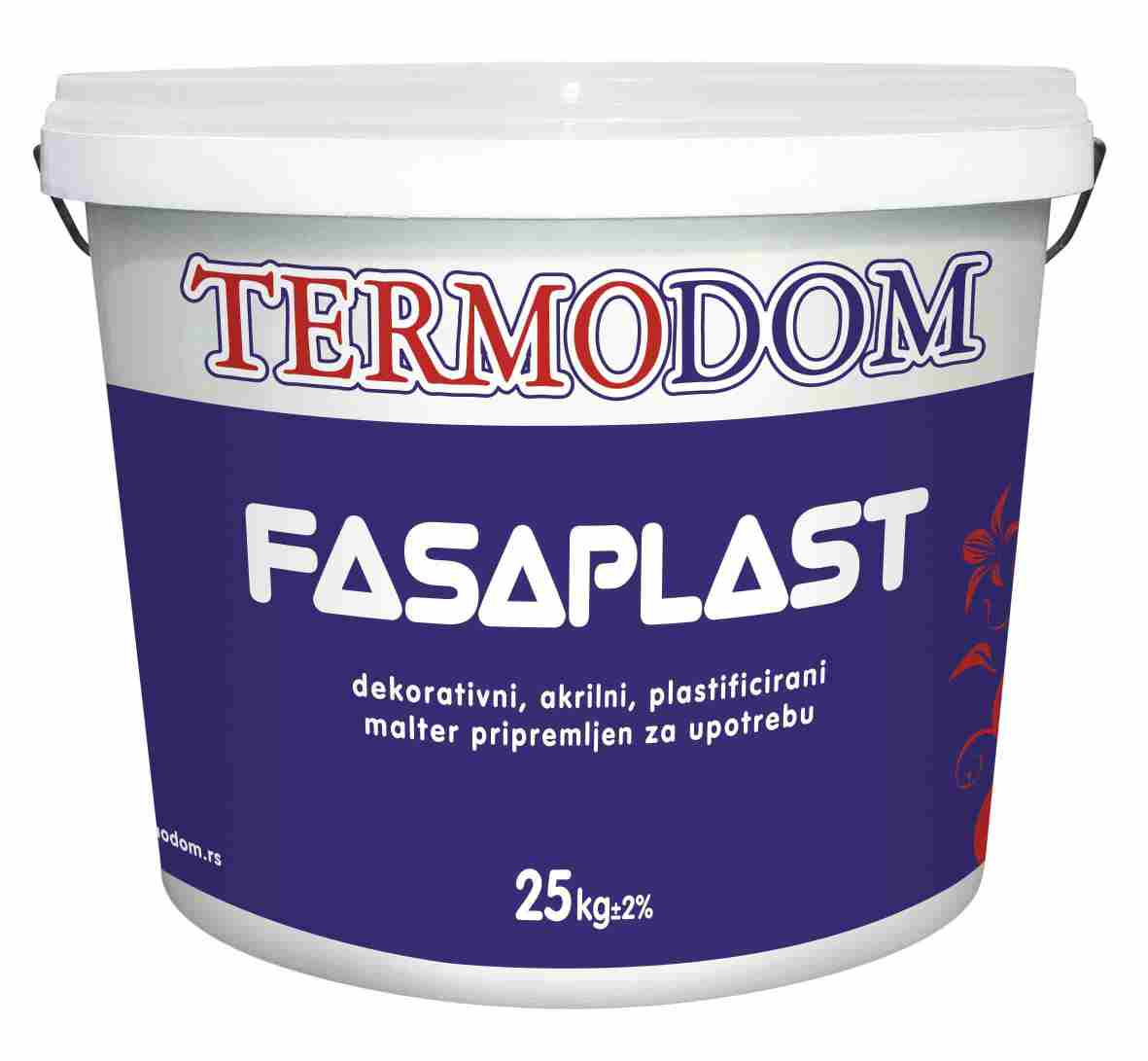 FASAPLAST FULL (puna str)  1,5 mm  Beli   25/1kg